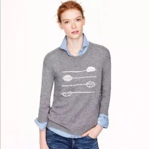 J Crew Arrow Sweater